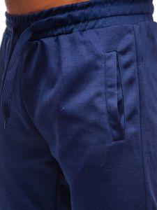 Tmavě modré pánské tepláky Bolf JZ11001