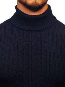 Tmavě modrý pánský rolák Bolf 315