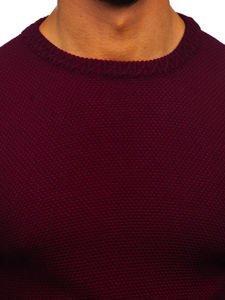 Vínový pánský svetr Bolf 312
