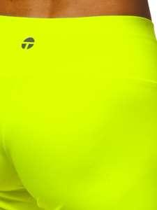 Žluto-neonové dámské kraťasy Bolf 54548